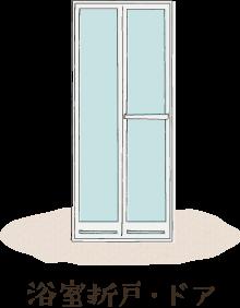 浴室折戸・ドア